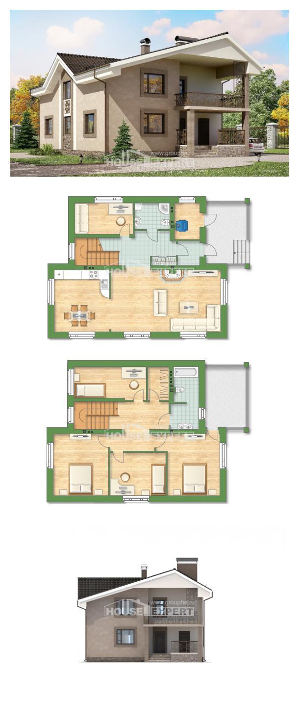 Проект на къща 210-003-R | House Expert