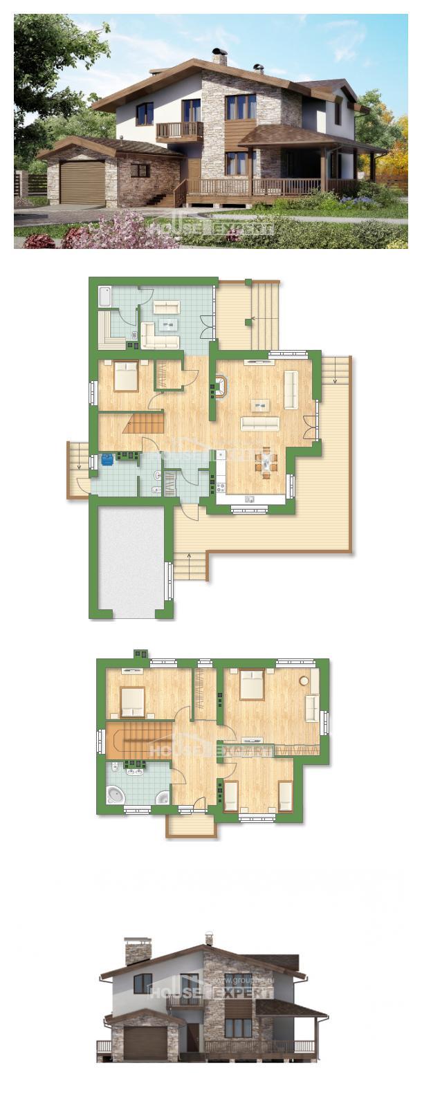 Проект на къща 220-001-R | House Expert