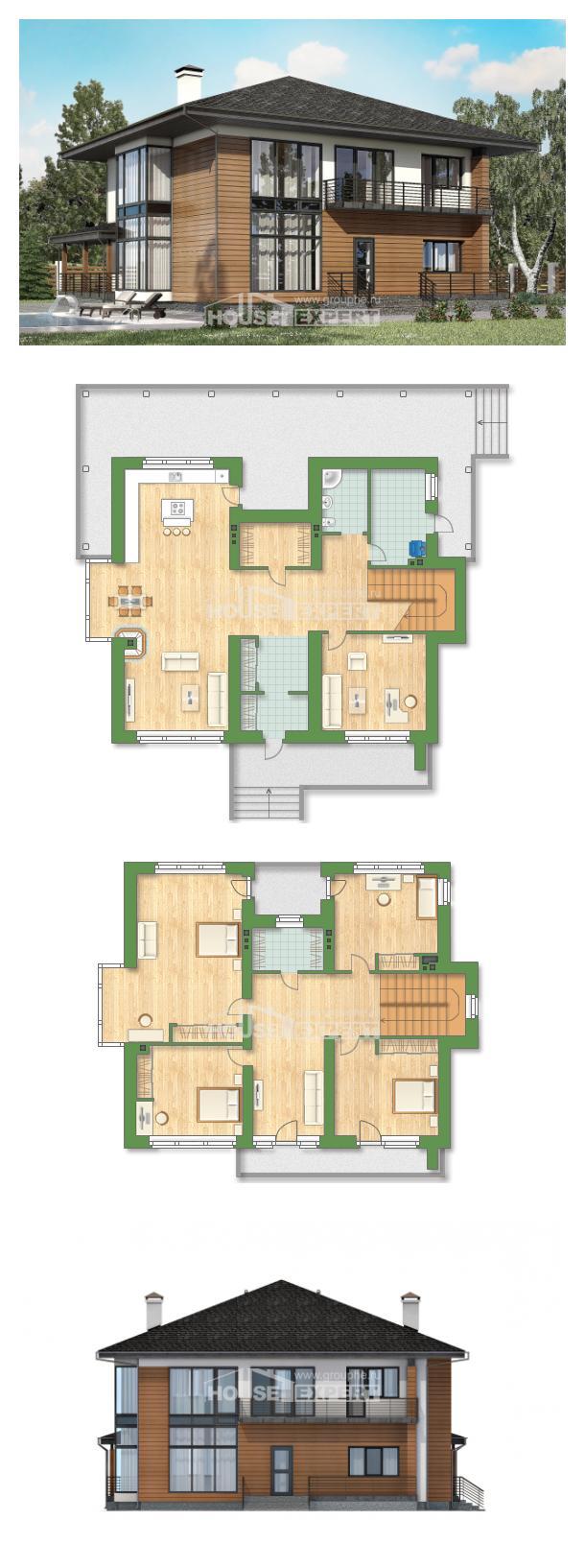 Проект на къща 245-001-R | House Expert