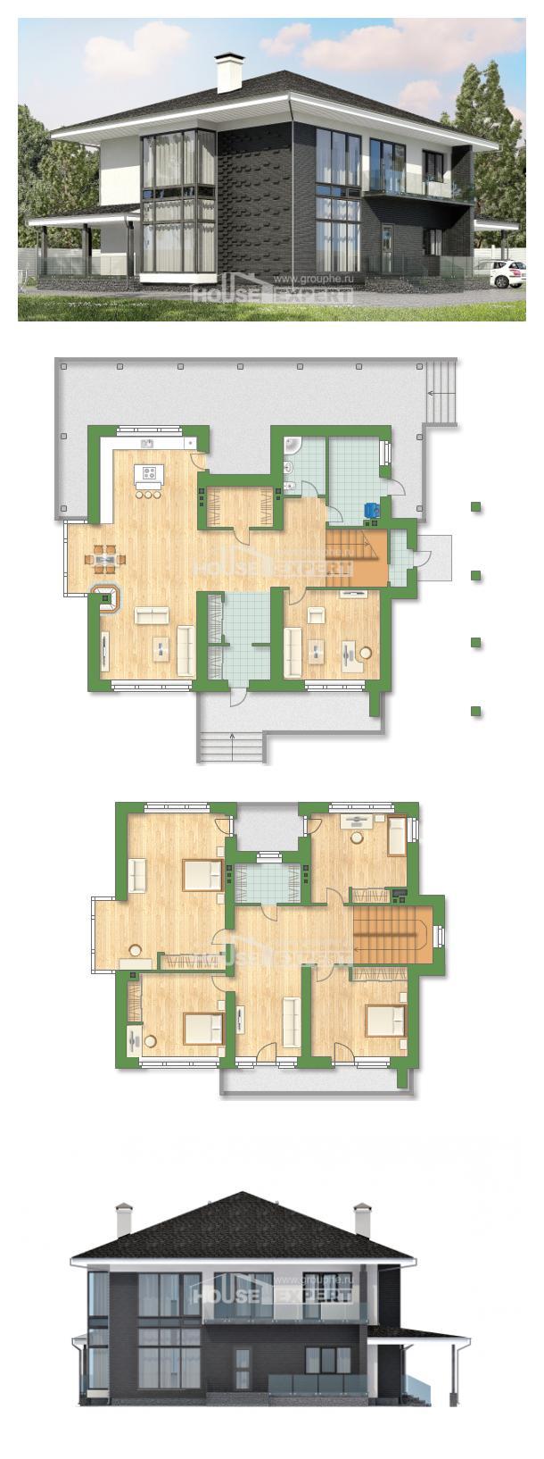 Проект на къща 245-002-R | House Expert
