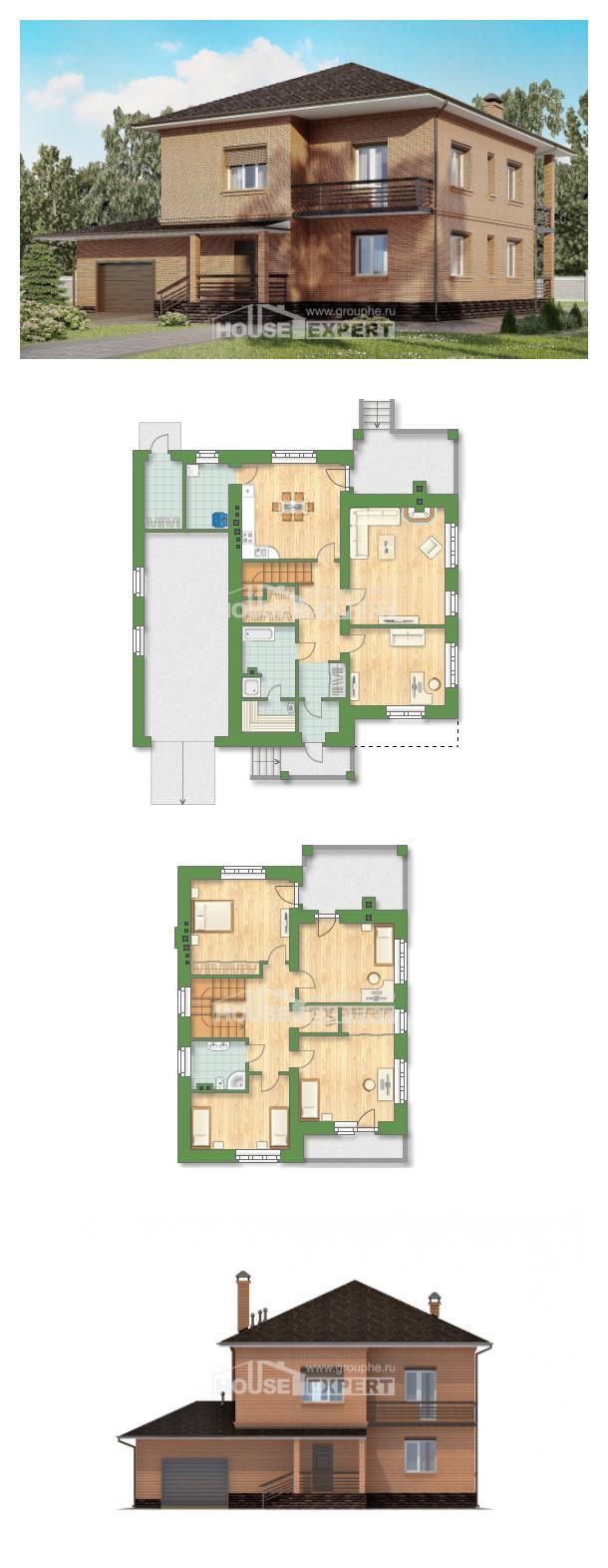 Проект на къща 245-003-L   House Expert