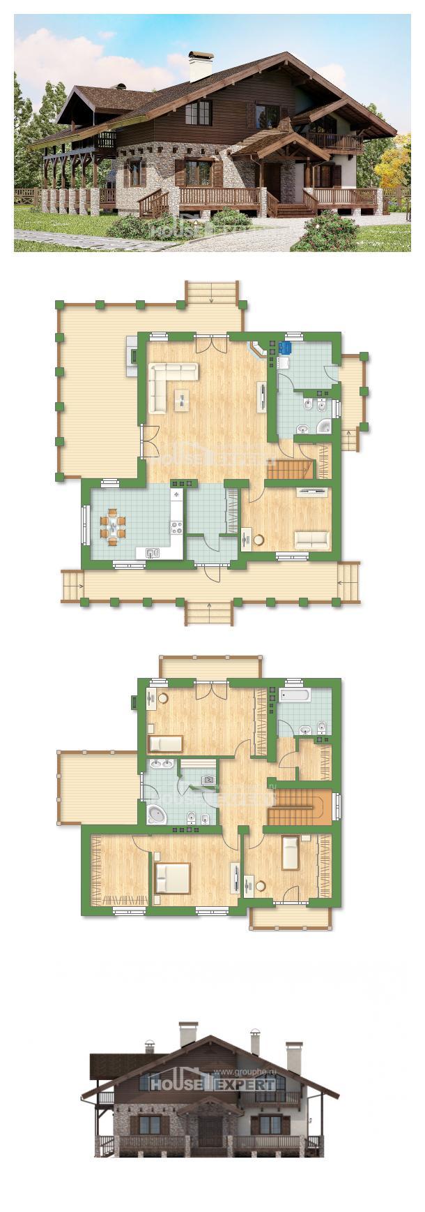 Проект на къща 250-003-R   House Expert
