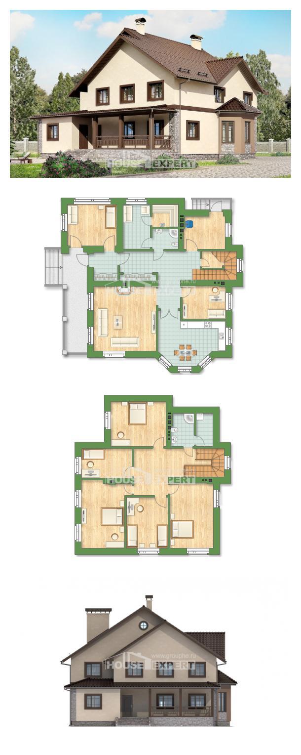 Проект дома 265-003-Л | House Expert
