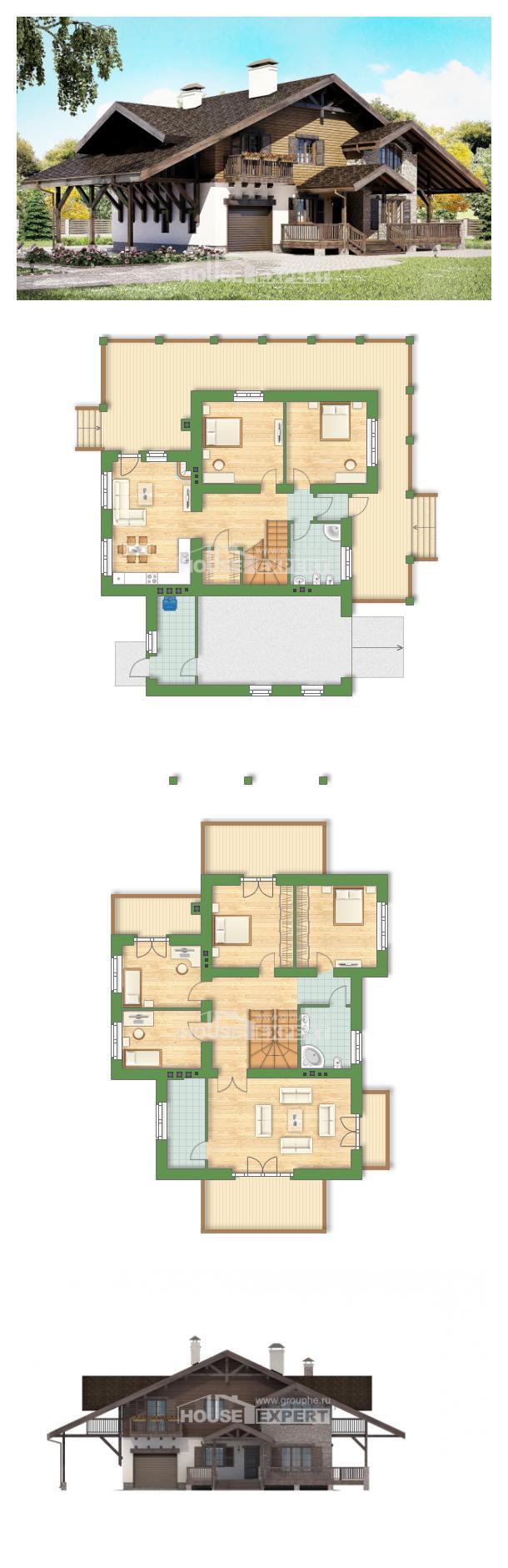 Проект на къща 270-001-L   House Expert