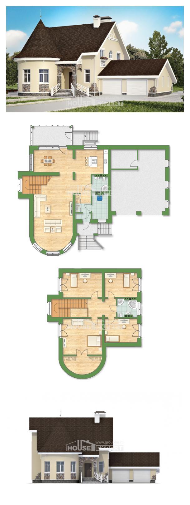 Проект на къща 275-001-L   House Expert