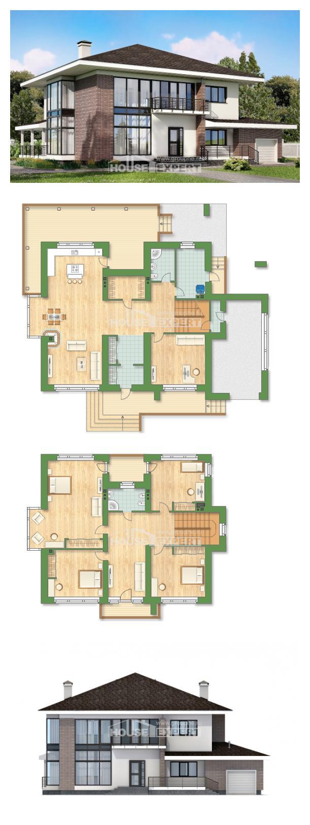 Proyecto de casa 275-002-R | House Expert