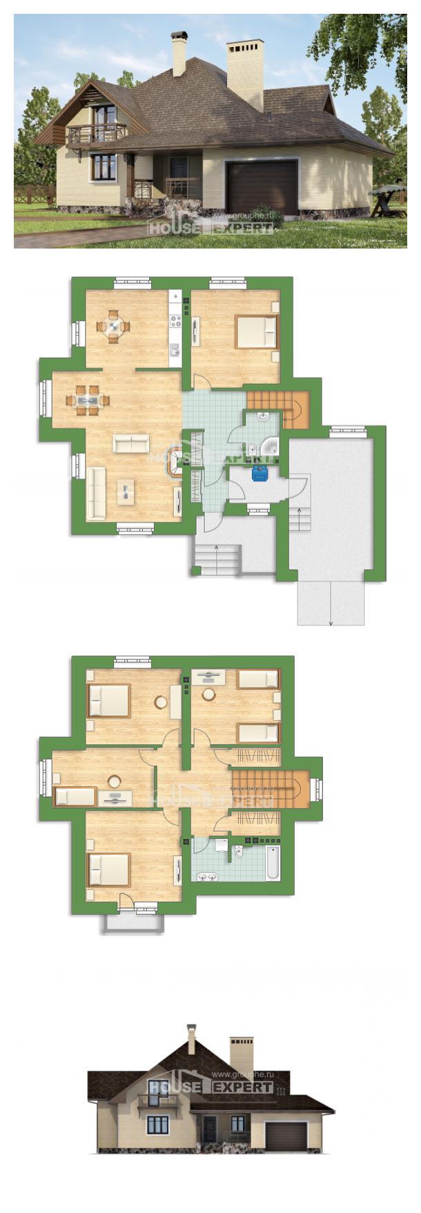 Projekt domu 275-003-R   House Expert