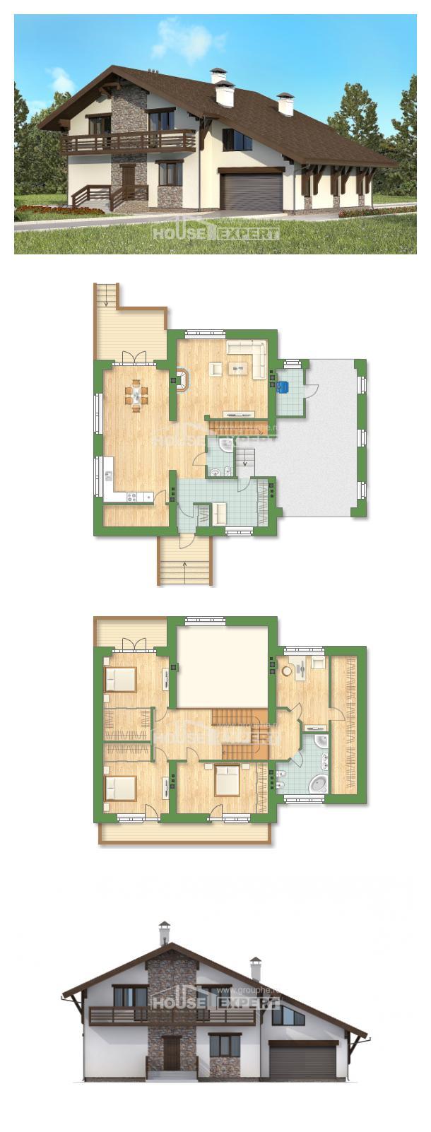 Projekt domu 280-001-R | House Expert