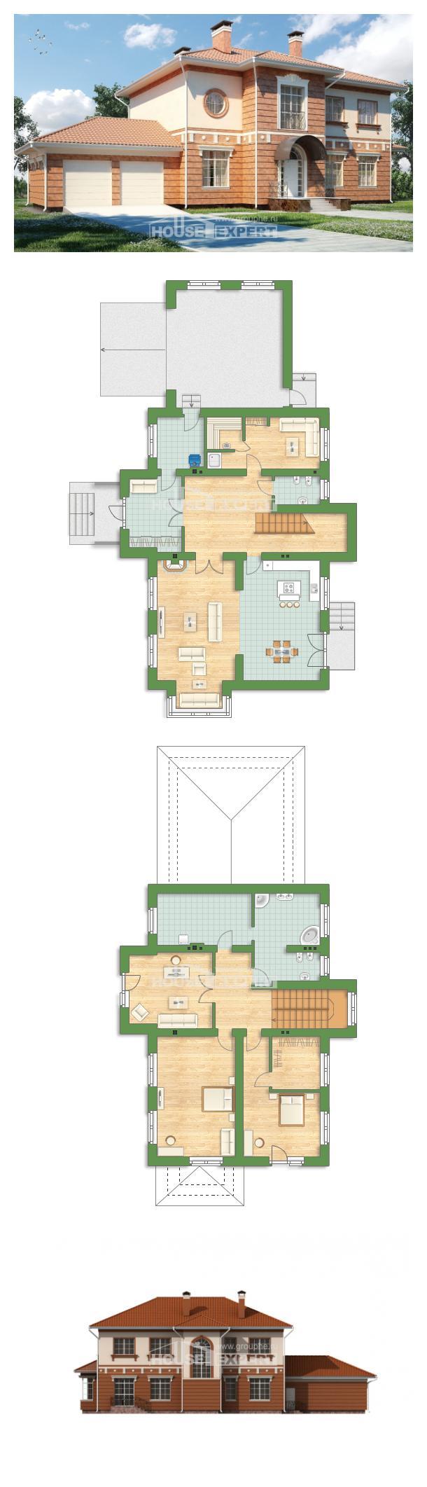 Проект на къща 285-001-L | House Expert