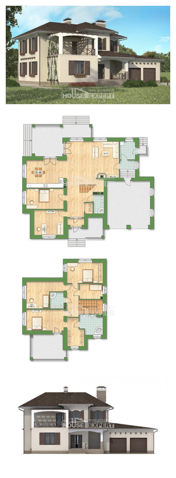 Проект на къща 285-002-R   House Expert