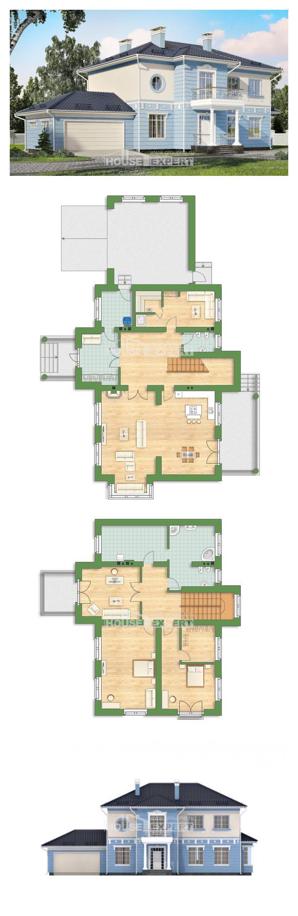 Проект на къща 285-003-L | House Expert