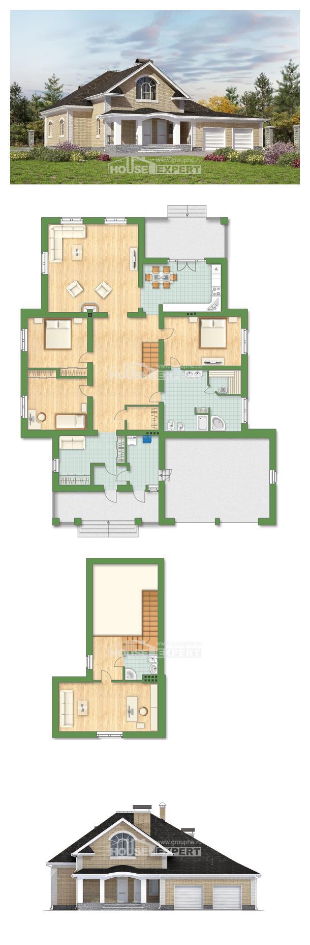 Проект на къща 290-001-R | House Expert
