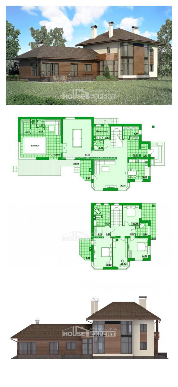 Проект дома 300-001-П   House Expert