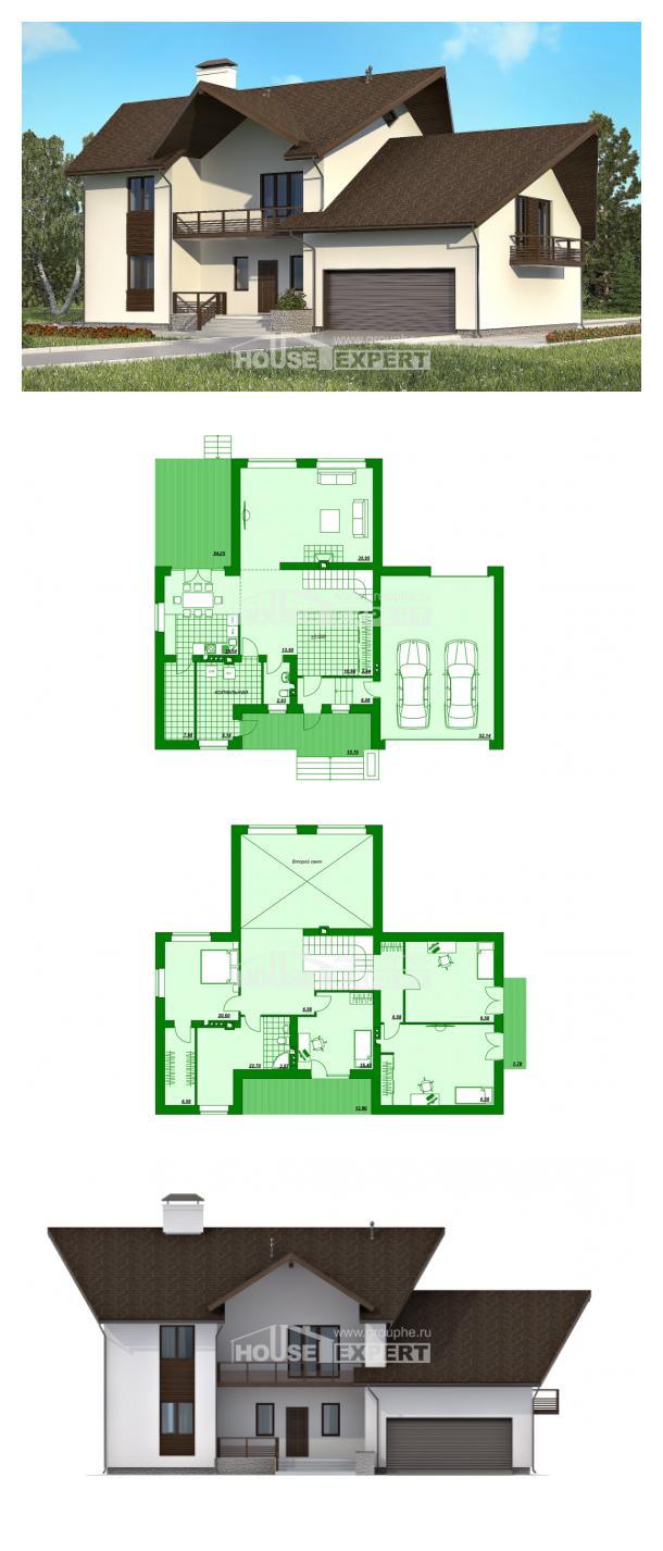 Проект дома 300-002-П   House Expert