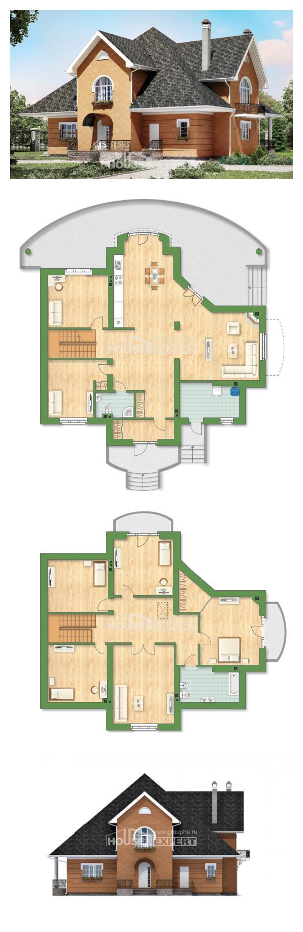 Projekt domu 310-001-R   House Expert