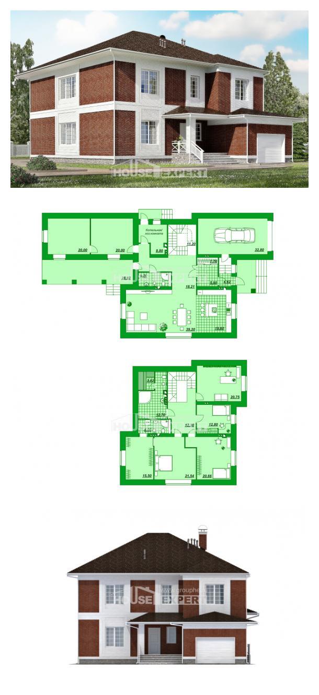 Projekt domu 315-001-R   House Expert