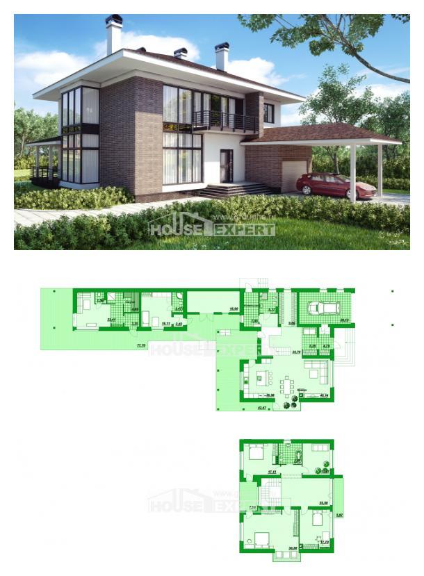 Projekt domu 340-001-R | House Expert