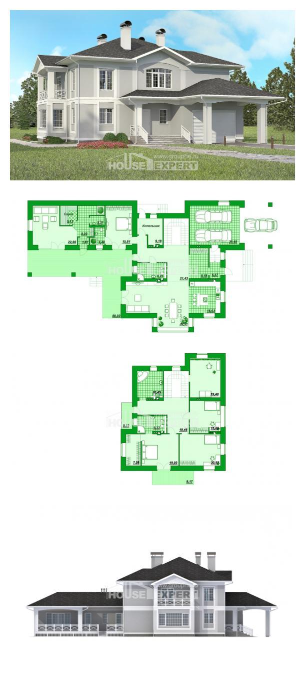 Proyecto de casa 360-001-R | House Expert