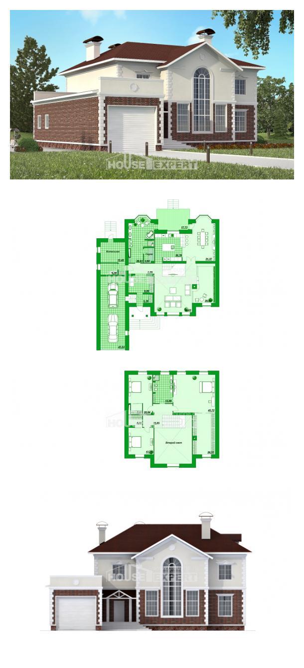 Proyecto de casa 380-001-L | House Expert