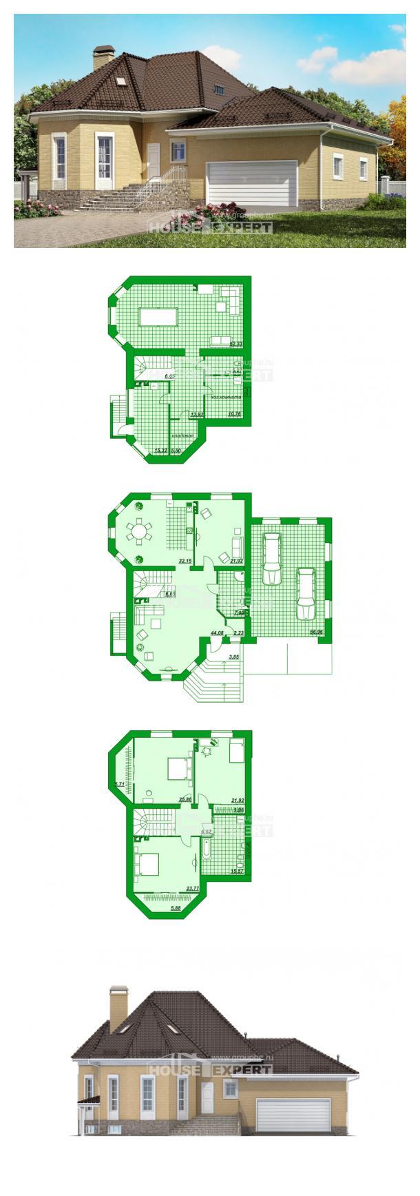 Proyecto de casa 400-001-R | House Expert