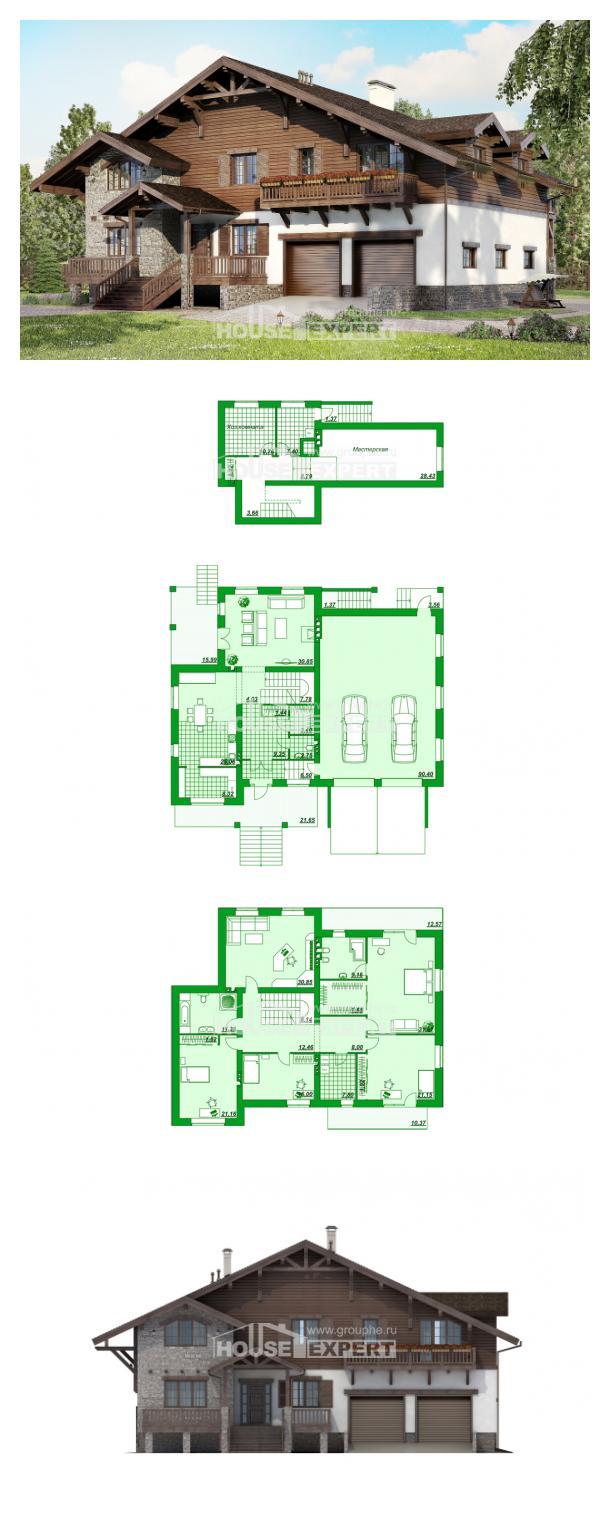 Proyecto de casa 440-001-R | House Expert