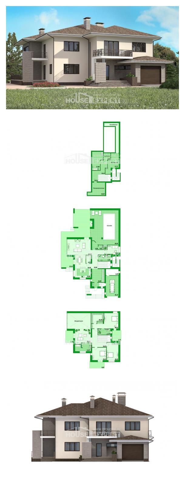 Проект дома 500-001-П | House Expert