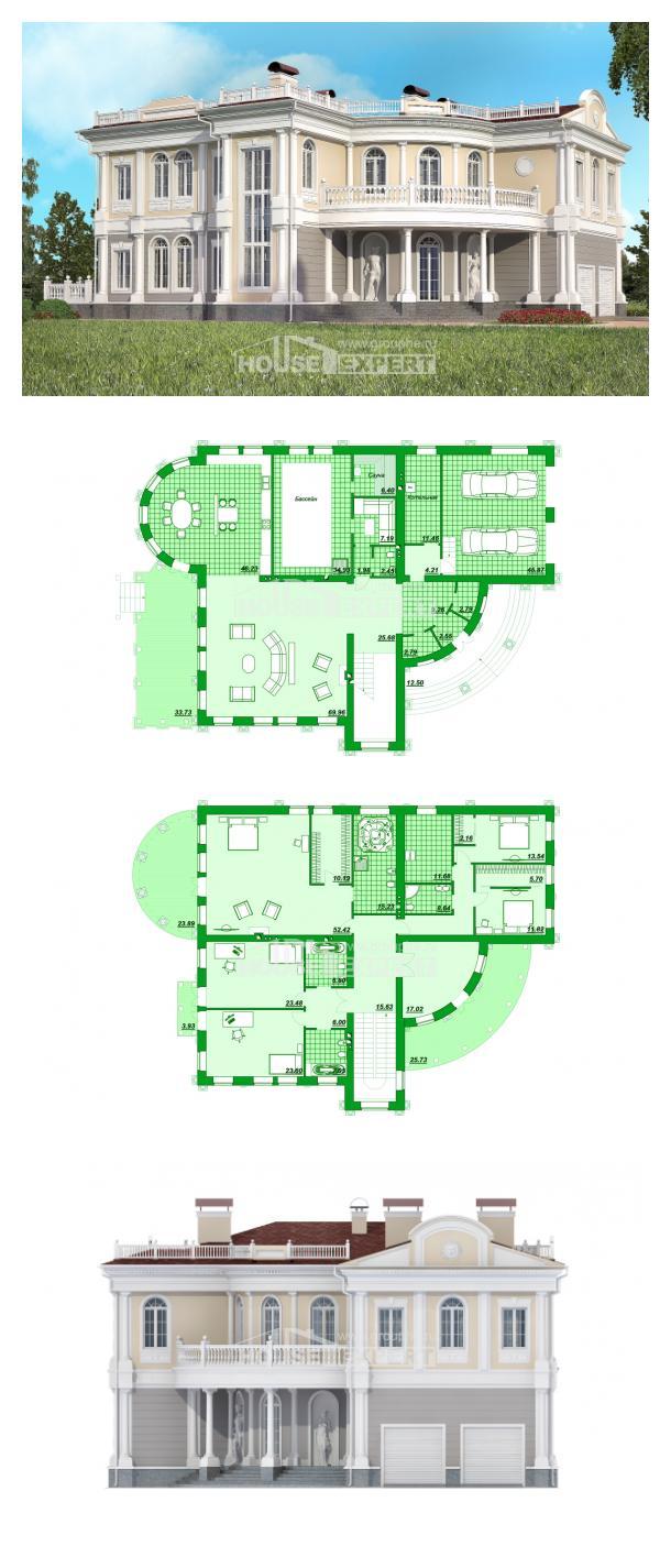 Proyecto de casa 505-001-R | House Expert