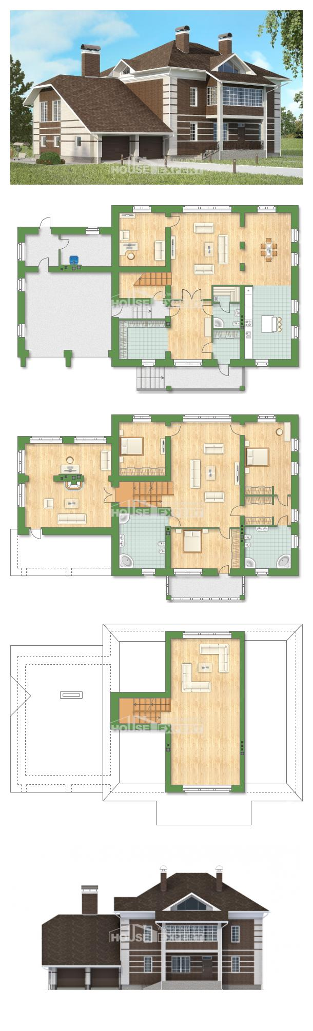 Проект дома 505-002-Л   House Expert