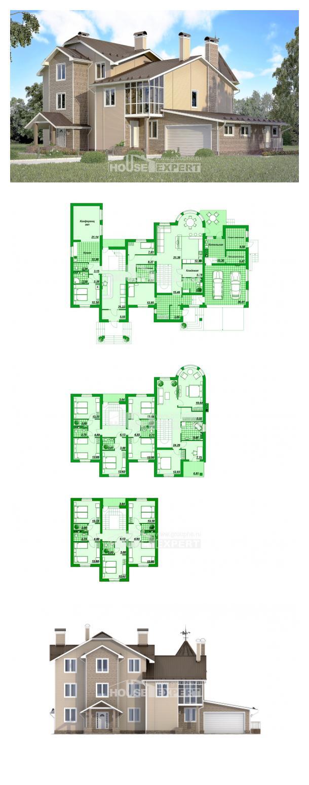 Projekt domu 555-001-L   House Expert