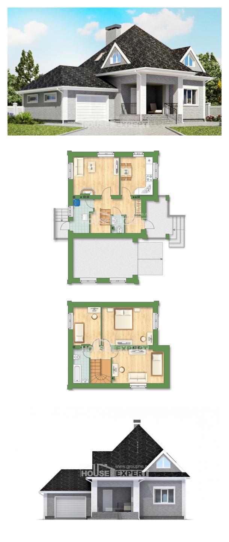 Proyecto de casa 135-001-L | House Expert