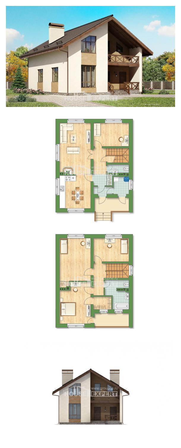 Projekt domu 170-002-R | House Expert