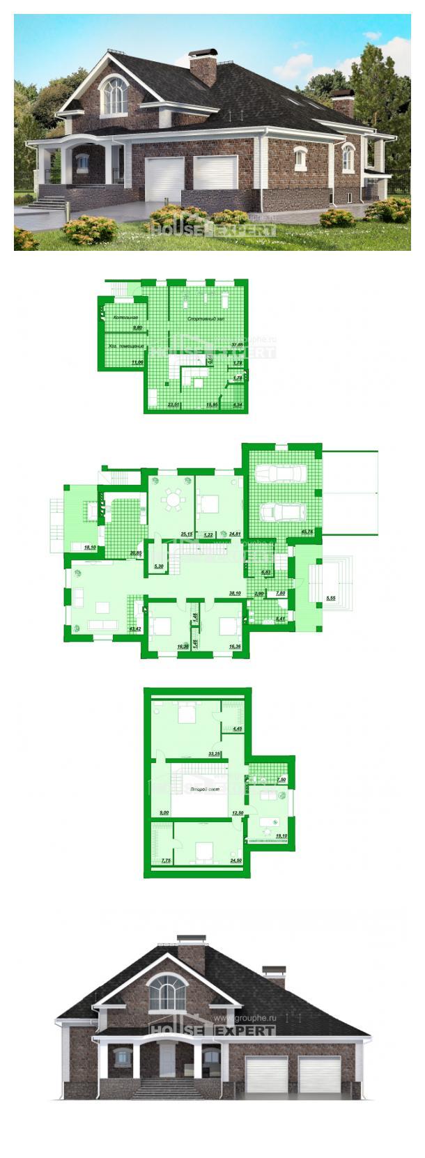 Proyecto de casa 490-001-R | House Expert