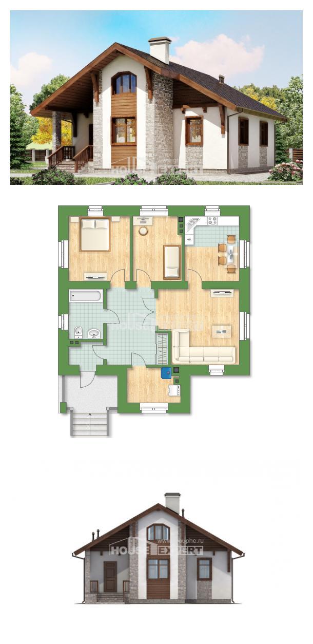 Projekt domu 080-002-L | House Expert
