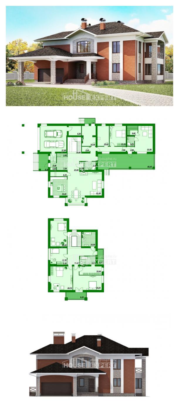Proyecto de casa 400-002-L | House Expert