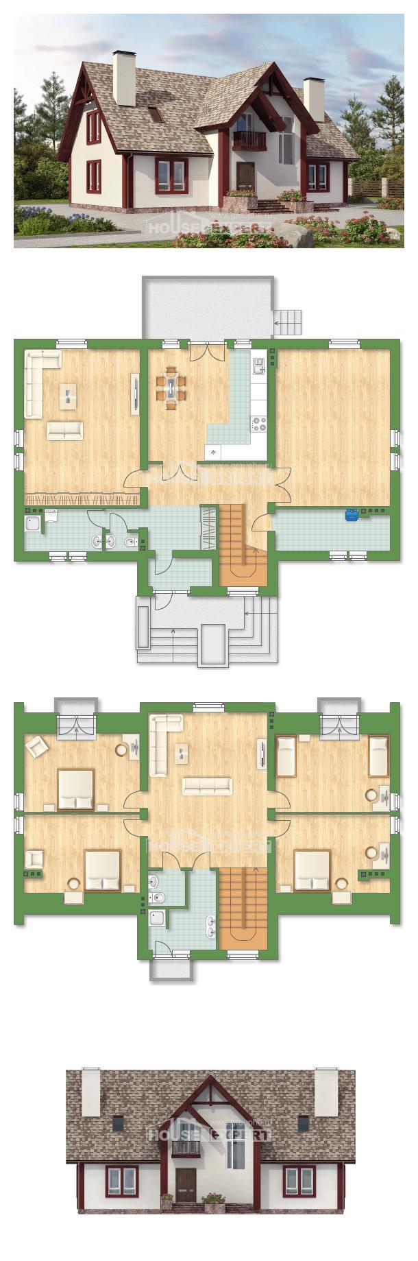 Projekt domu 300-008-L   House Expert
