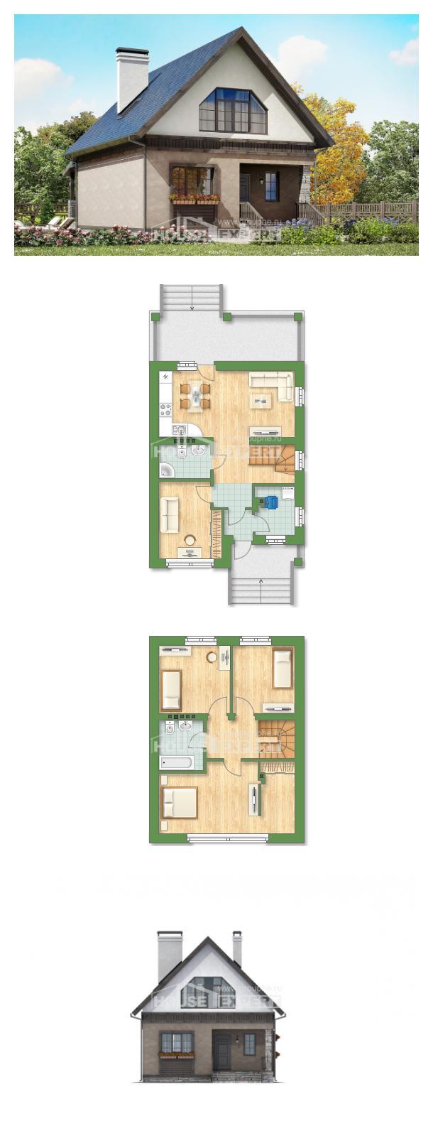 Projekt domu 130-003-R | House Expert