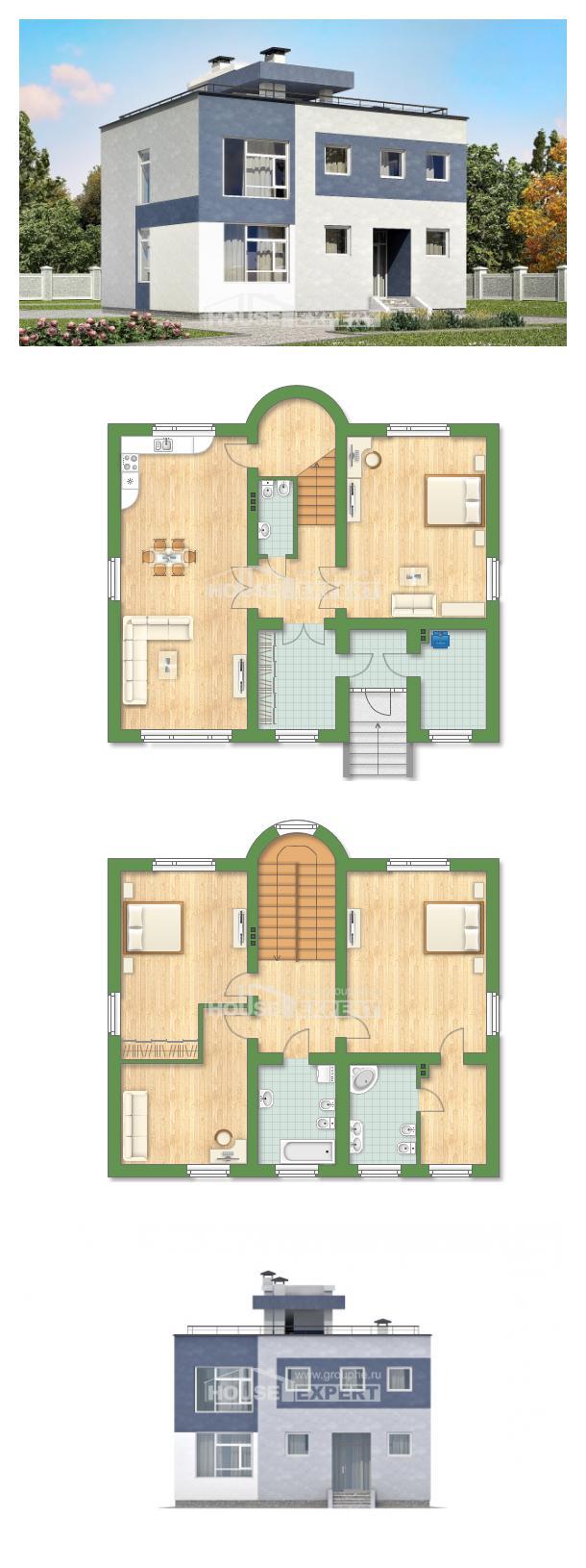 Proyecto de casa 180-005-R | House Expert
