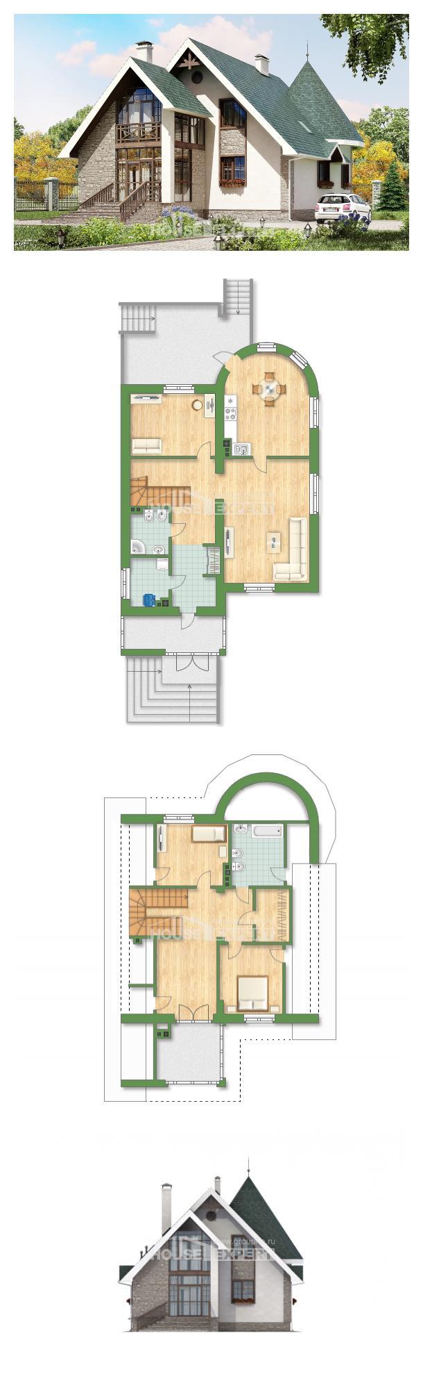 Projekt domu 170-003-L   House Expert