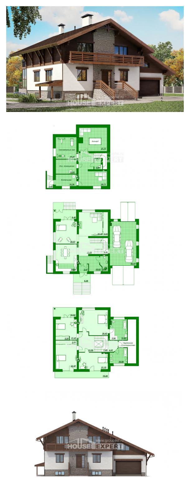Projekt domu 420-001-R   House Expert