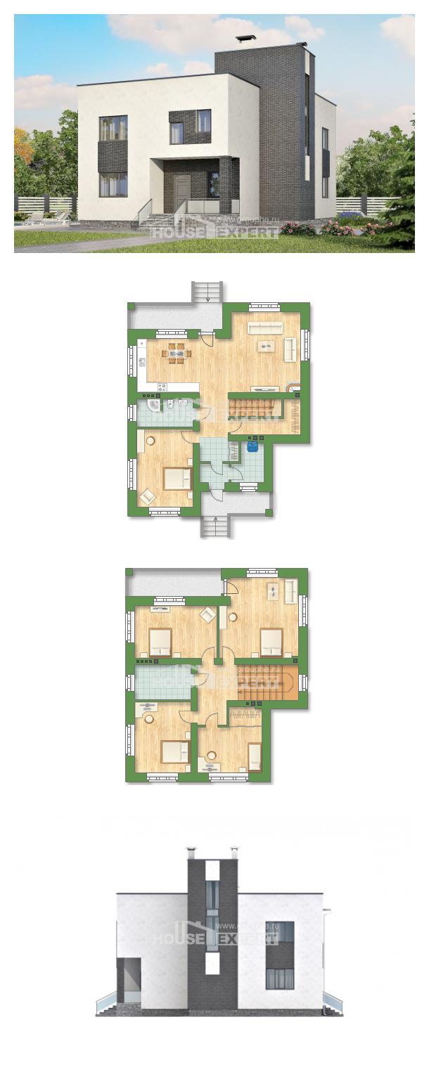 Proyecto de casa 225-001-R | House Expert