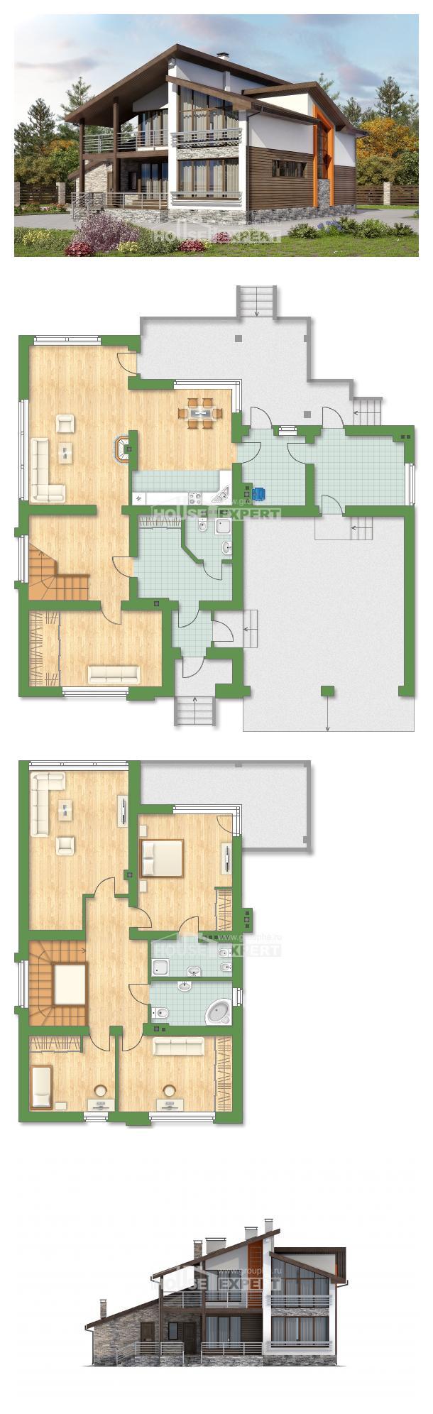 Проект на къща 240-004-R | House Expert