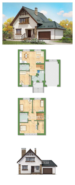 Проект дома 160-005-П   House Expert