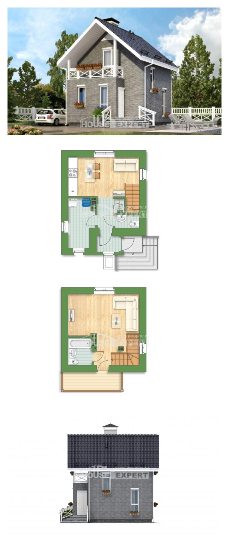 Projekt domu 045-001-R | House Expert