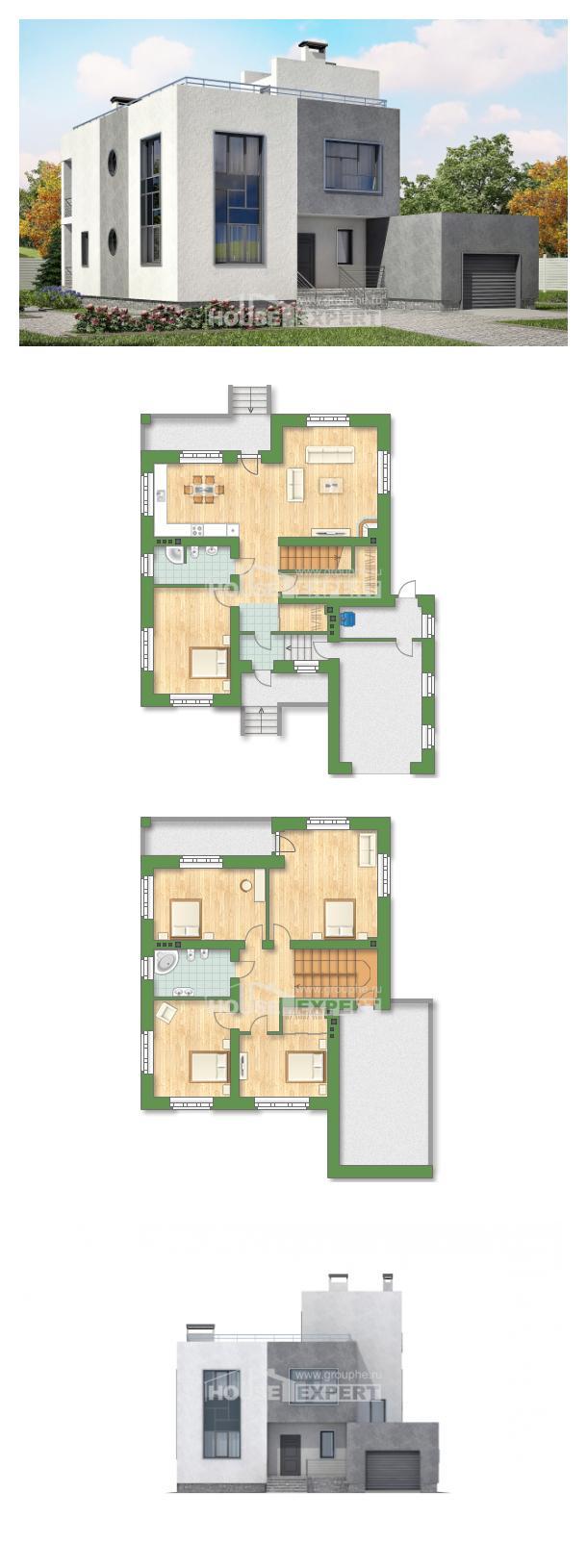 Projekt domu 255-001-R | House Expert