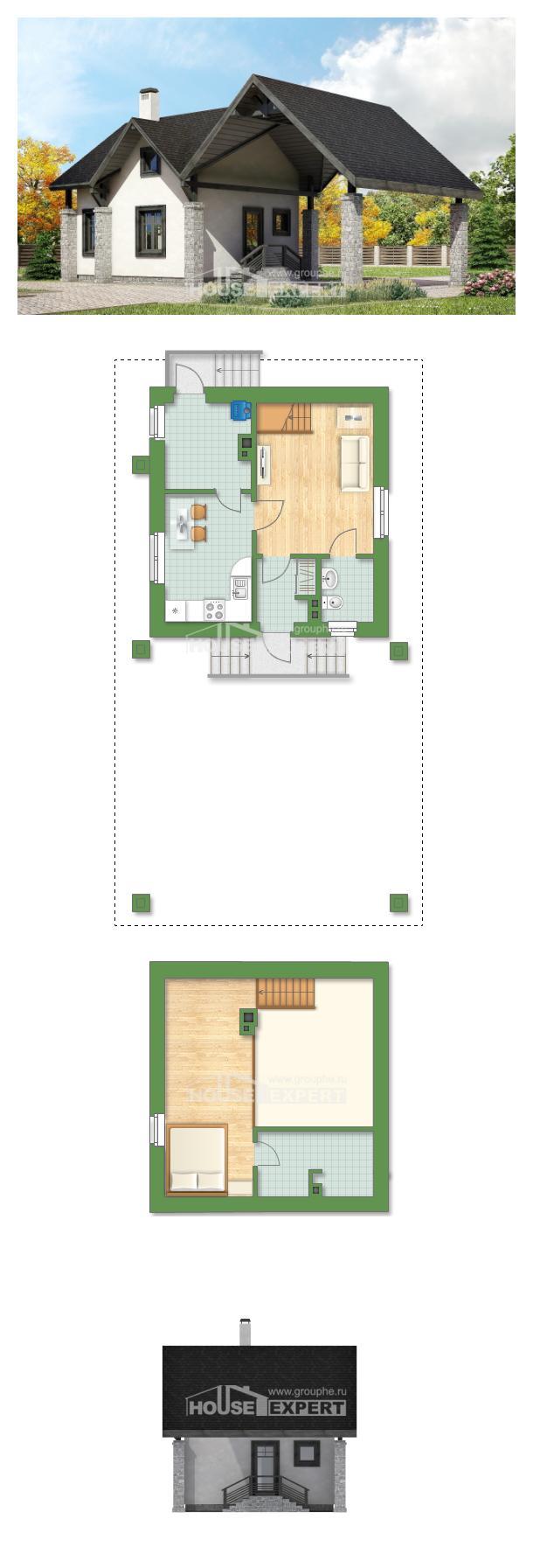 Projekt domu 060-001-R   House Expert
