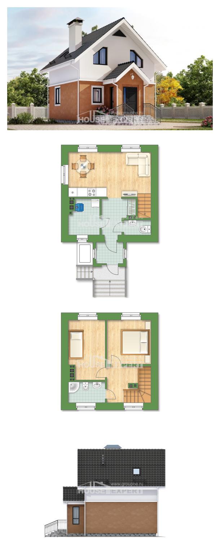 Projekt domu 070-001-L | House Expert