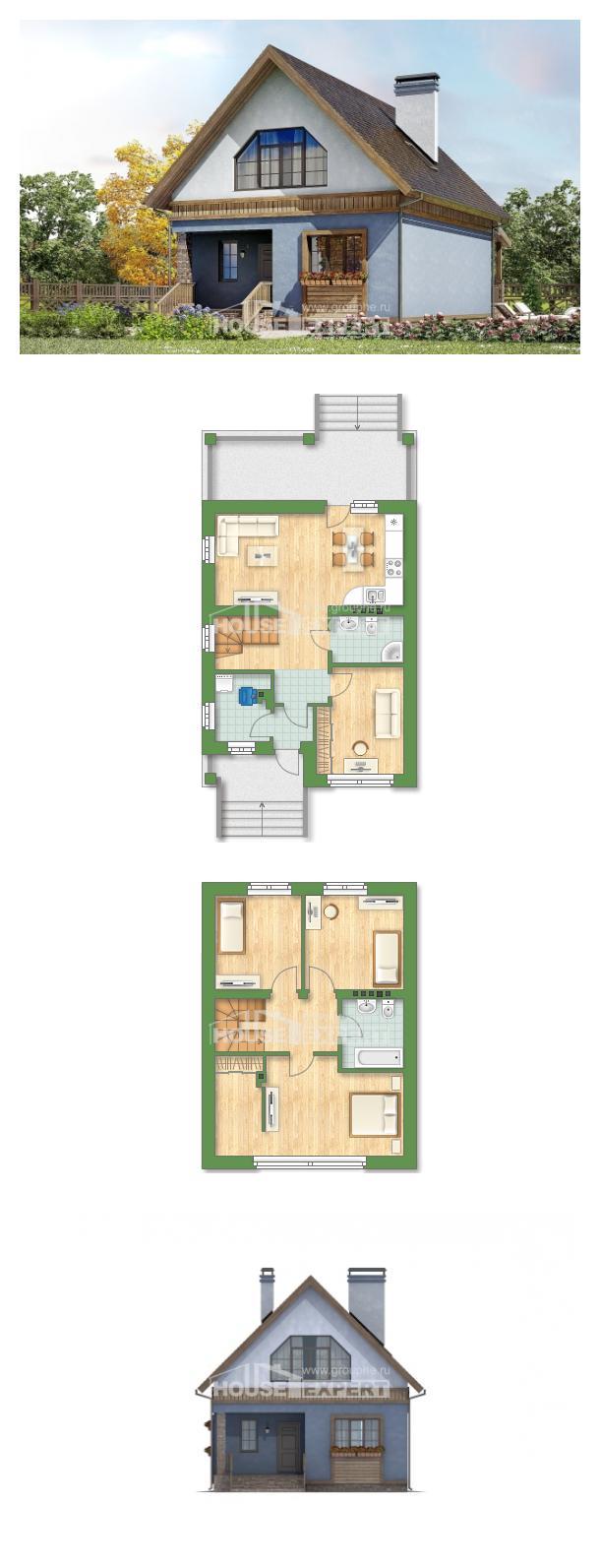 Projekt domu 130-003-L | House Expert