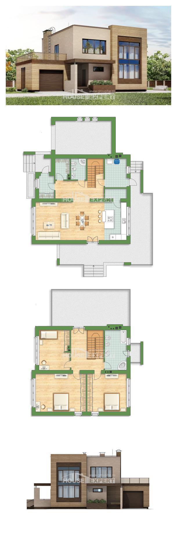 Projekt domu 220-003-L   House Expert