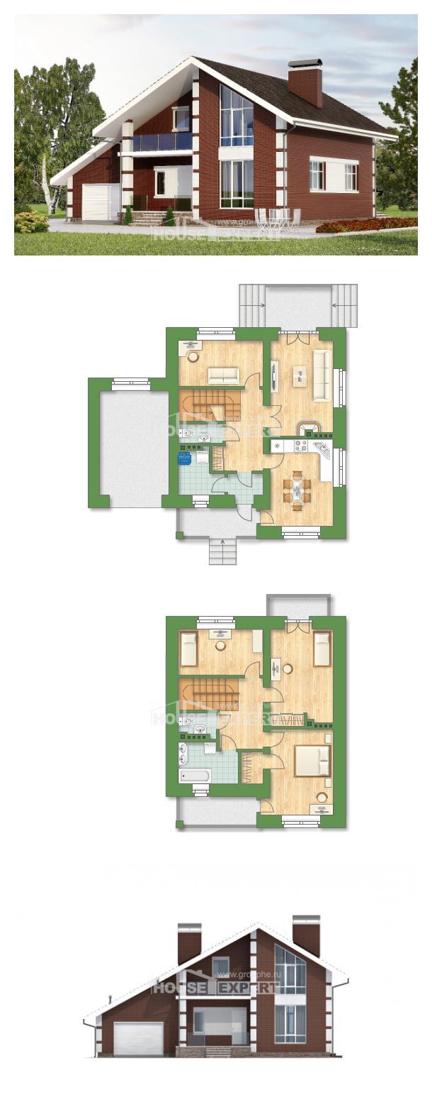 Projekt domu 180-001-L | House Expert