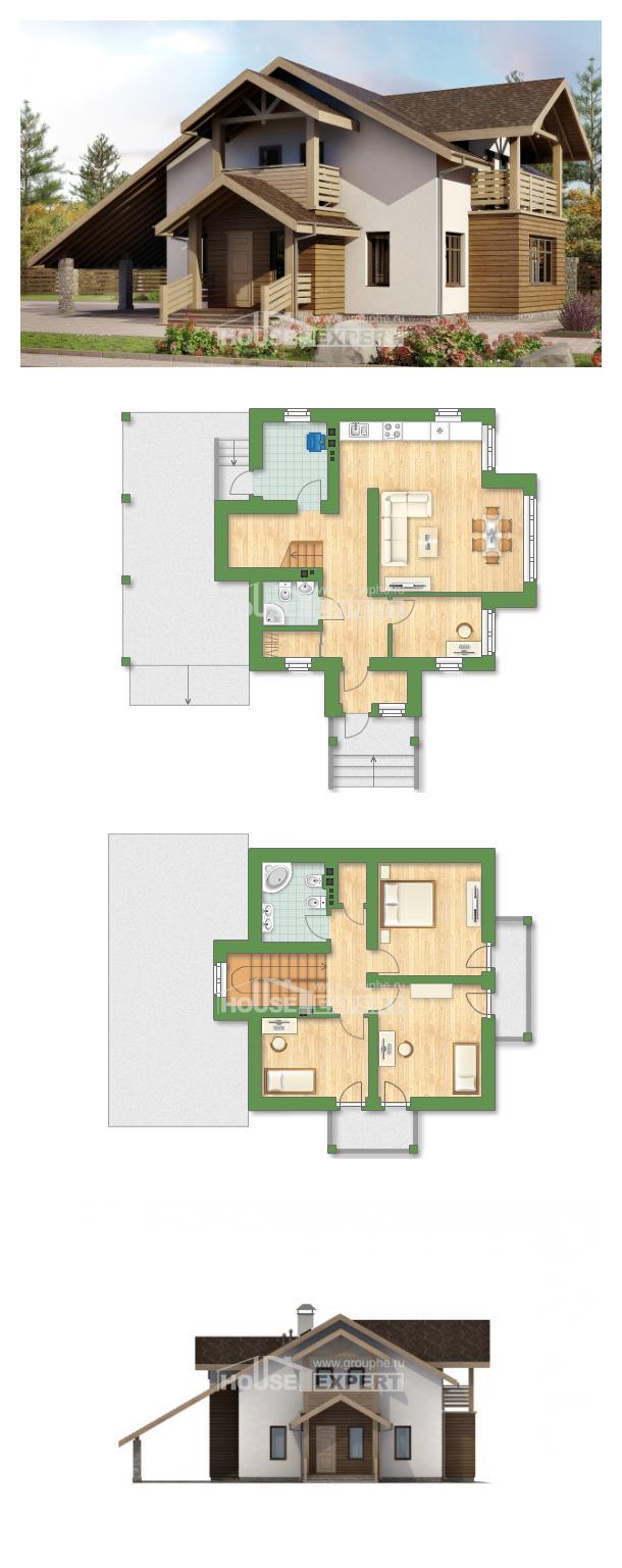 Projekt domu 155-010-L   House Expert